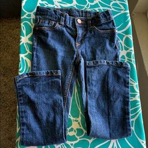 Route 66  skinny boot cut little girl jeans 6